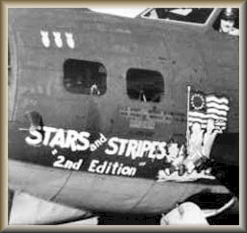 "B-17G-15-BO ''Stars and Stripes '2nd Edition'"" Serial 42-31349"