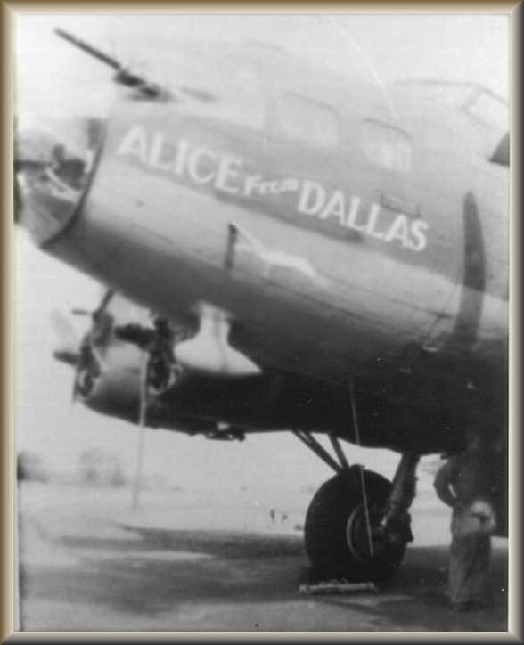 B-17F-30-VE 'Alice From Dallas' Serial 42-5867